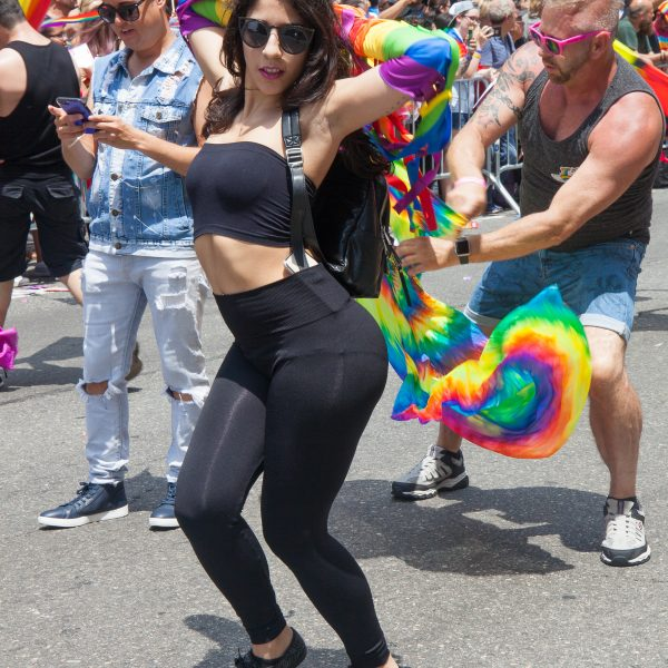 Sunday, June 24, 2018. New York City – New Yorkers celebrated the biggest LGBTQ Pride March in the United States of America. This year, the NYC Pride March celebrated 49 years. Photo by Javier Soriano/LoveIsAmor.com
