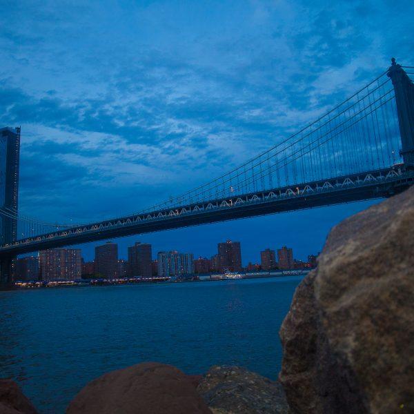 9/22/2018 Manhattan Bridge. Brooklyn Bridge Park. Brooklyn, NYC. Credit: Photo by LoveIsAmor.com