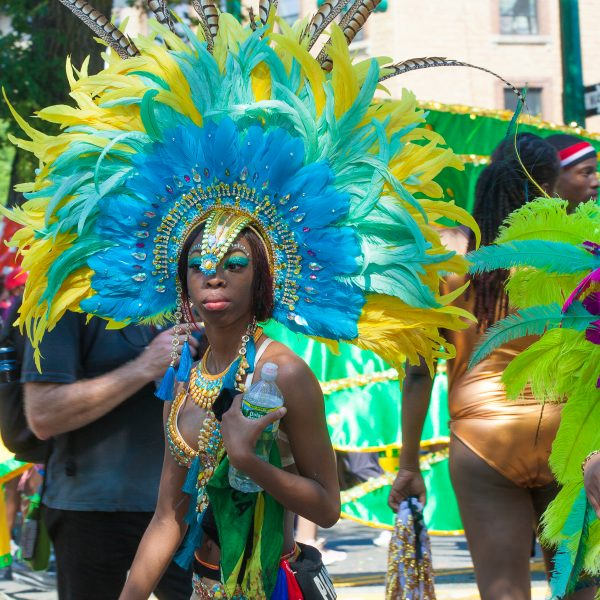 Monday, September 3, 2018. Eastern Parkway. Brooklyn, NYC – The New York City Caribbean Carnival Parade 2018 was today. As always it was amazing. Thousands of people attended the parade. Credit: Photo by LoveIsAmor.com
