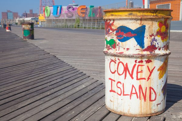 9/5/2018 Boardwalk. Coney Island. Brooklyn, New York City. Credit: Photo by LoveIsAmor.com