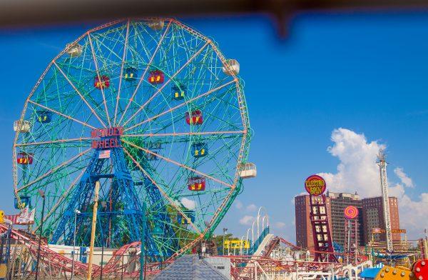9/5/2018 Boardwalk and The Wonder Wheel. Coney Island. Brooklyn, New York City. Credit: Photo by LoveIsAmor.com