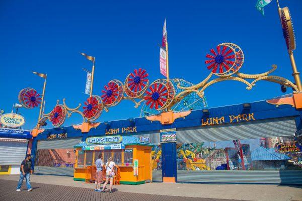 9/5/2018 Boardwalk and Luna Park. Coney Island. Brooklyn, New York City. Credit: Photo by LoveIsAmor.com