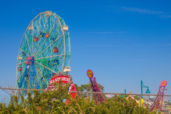 9/5/2018 The Wonder Wheel. Coney Island. Brooklyn, New York City. Credit: Photo by LoveIsAmor.com