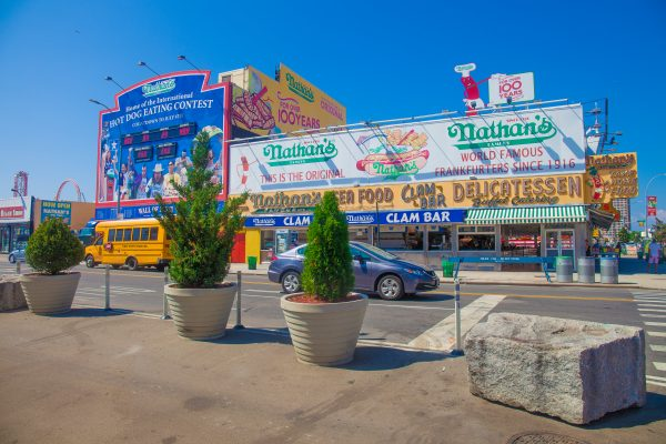 9/5/2018 Nathan's (the flavor of New York since 1916. Home of the International HOT DOG EATING CONTEST). Coney Island. Brooklyn, New York City. Credit: Photo by LoveIsAmor.com