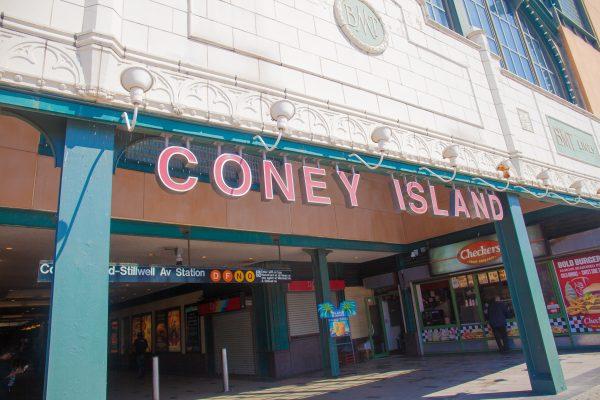 9/5/2018 Coney Island Subway station. Coney Island. Brooklyn, New York City. Credit: Photo by LoveIsAmor.com
