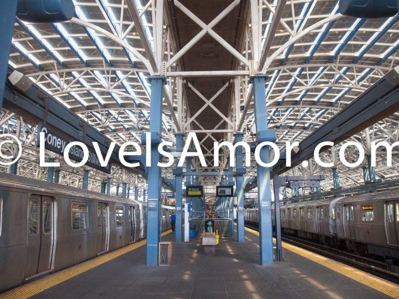 9/5/2018 Coney Island-Stillwell Avenue subway station. Brooklyn, New York City. Photo by LoveIsAmor.com