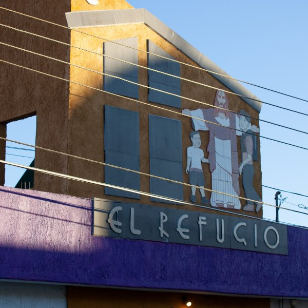 "Tlaquepaque, Guadalajara. Jalisco, Mexico. Monday, November 19th, 2018. Refugees from Central America have been staying at ""El Refugio. Casa del Migrante."" Credit: Photo by LoveIsAmor.com"