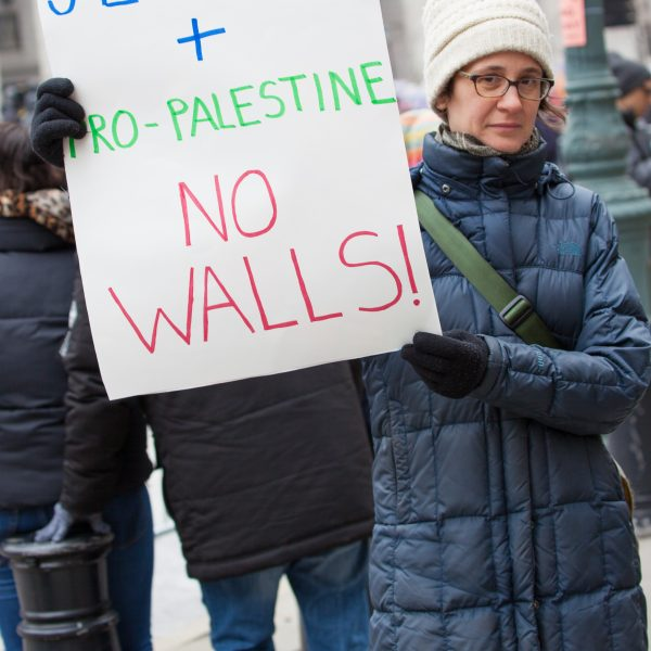 Manhattan, New York City. Saturday, January 19, 2019 Hundreds of people attended the third annual Women's March at Foley Square Park in support of women's rights. Credit: Photo by LoveIsAmor.com
