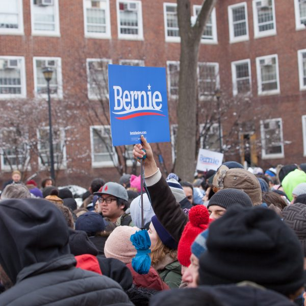 Saturday, March 2, 2019. New York City - Supporters of United States of America Senator and 2020 presidential candidate Bernie Sanders. Photo by LoveIsAmor.com