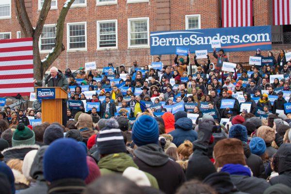 Saturday, March 2, 2019. Brooklyn College. Brooklyn, New York City - United States of America Senator and 2020 presidential candidate Bernie Sanders. Photo by LoveIsAmor.com