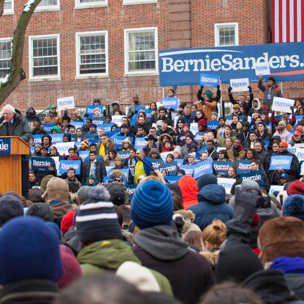 Saturday, March 2, 2019. Brooklyn College. Brooklyn, New York City - United States of America Senator and 2020 presidential candidate Bernie Sanders. Photo by LoveIsAmor.com