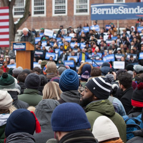 Saturday, March 2, 2019. Brooklyn College. Brooklyn, New York City - United States of America Senator and 2020 presidential candidate Bernie Sanders and his supporters. Photo by LoveIsAmor.com