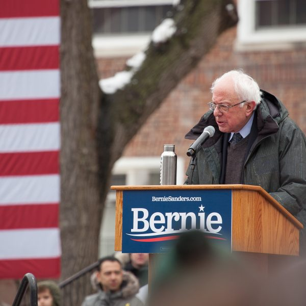 Saturday, March 2, 2019. Brooklyn College. Brooklyn, New York City - United States of America Senator and 2020 presidential candidate Bernie Sanders. Today was the first event of Senator Bernie Sanders 2020 presidential campaign. Credit: Photo by LoveIsAmor.com
