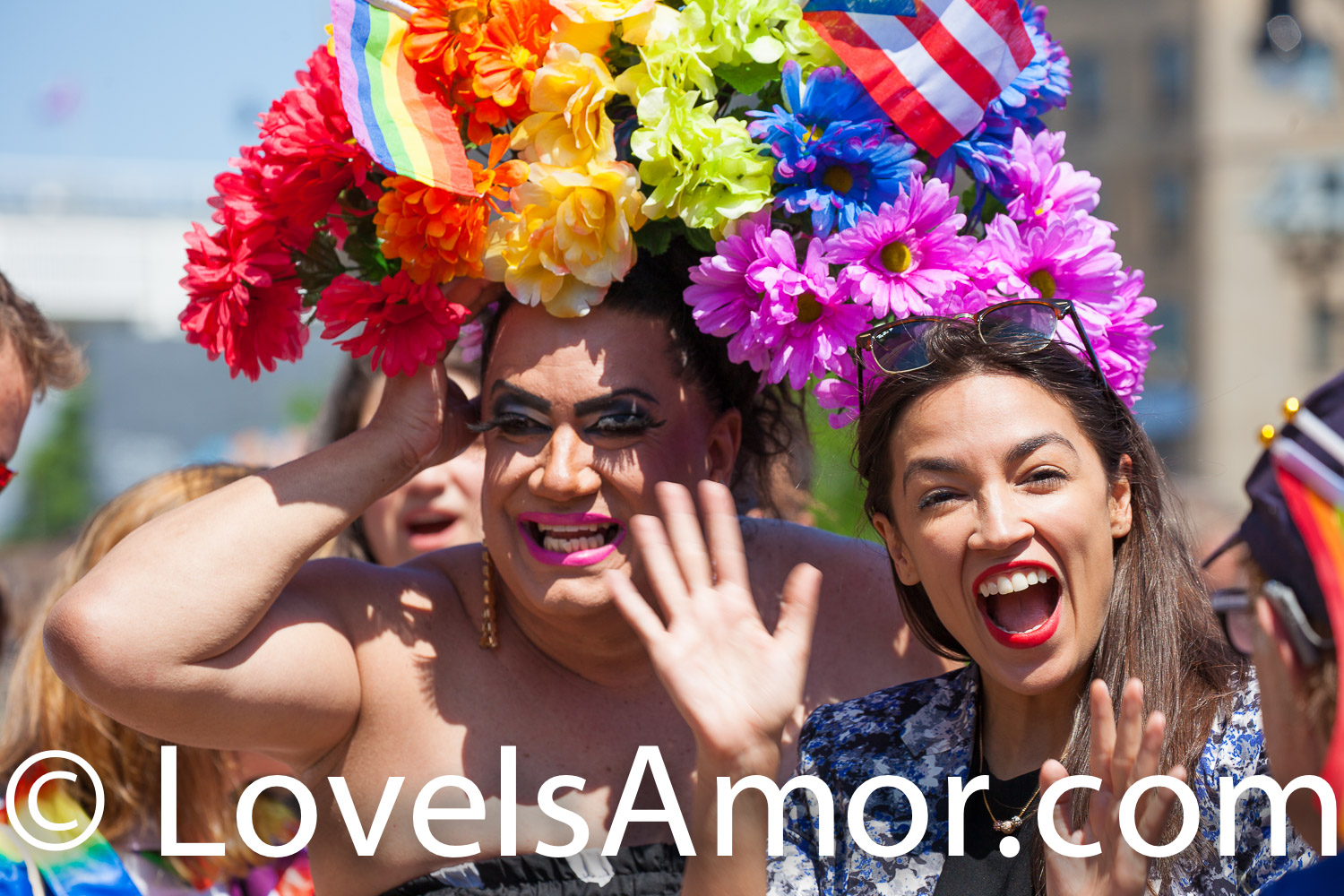 New York City – The 1 Bronx World Pride Rally, March and Festival was Yesterday, Sunday, June 23, 2019. People celebrated Bronx World Pride, Pride Month and the 50th anniversary of the Stonewall Rebellion. The rally was at 161st Street and Grand Concourse. Alexandria Ocasio-Cortez Congresswoman for New York's 14th congressional district: Bronx – Queens, was one of the speakers. AOC (often referred to by her initials) marched from 161st Street and Grand Concourse to 149th Street and 3rd Ave.