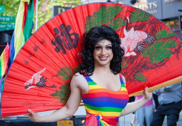 Saturday, June 8th, 2019. Brooklyn, New York City - Drag Queen at the Brooklyn Pride Parade/March. This year, Brooklyn celebrated the 23rd Annual Brooklyn Pride Parade/March. Brooklyn Pride was ranked within the top 10 of the 20 best places in the US to celebrate pride by matadornetwork.com. This year is the 50th anniversary of the Stonewall revolution. Credit: Photo by LoveIsAmor.com