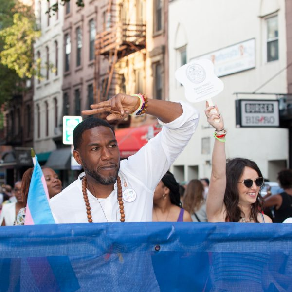 Saturday, June 8th, 2019. Brooklyn, New York City - New York City Public Advocate Jumaane Williams and other people at the Brooklyn Pride Parade/March. This year, Brooklyn celebrated the 23rd Annual Brooklyn Pride Parade/March. Brooklyn Pride was ranked within the top 10 of the 20 best places in the US to celebrate pride by matadornetwork.com. This year is the 50th anniversary of the Stonewall revolution. Credit: Photo by LoveIsAmor.com