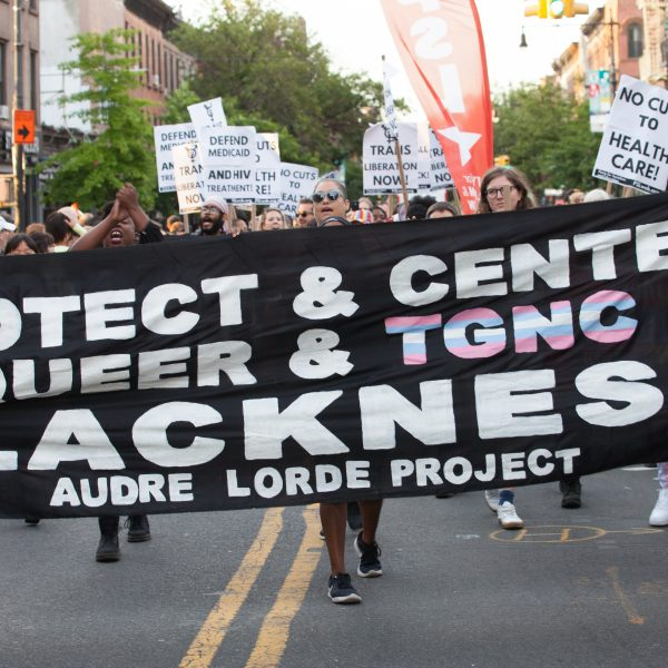 Saturday, June 8th, 2019. Brooklyn, New York City - Audre Lorde Project at the Brooklyn Pride Parade/March. This year, Brooklyn celebrated the 23rd Annual Brooklyn Pride Parade/March. Brooklyn Pride was ranked within the top 10 of the 20 best places in the US to celebrate pride by matadornetwork.com. This year is the 50th anniversary of the Stonewall revolution. Credit: Photo by LoveIsAmor.com