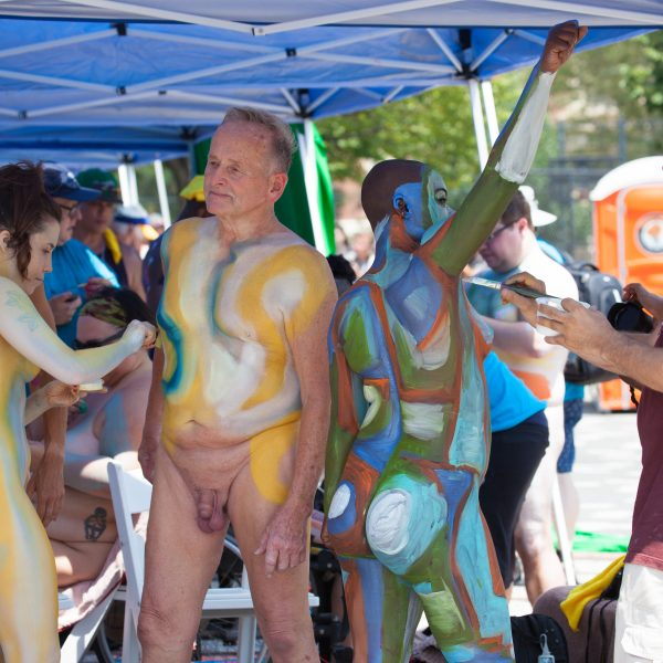 "Saturday, July 20, 2019. New York City – Today was the Bodypainting Day 2019. The event was organized by Human Connection Arts. This was the 6th annual event and it was at the Maria Hernandez Park. The park is in the artistic mecca of Bushwick in Brooklyn, NYC. Photo credit: ""Photo by LoveIsAmor.com"""