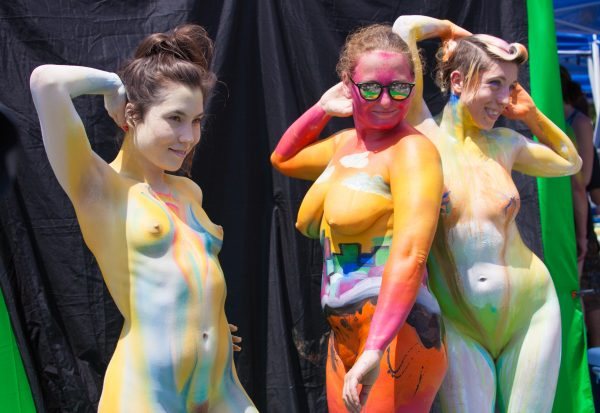 """Saturday, July 20, 2019. New York City – Today was the Bodypainting Day 2019. The event was organized by Human Connection Arts. This was the 6th annual event and it was at the Maria Hernandez Park. The park is in the artistic mecca of Bushwick in Brooklyn, NYC. Photo credit: """"Photo by LoveIsAmor.com"""""""